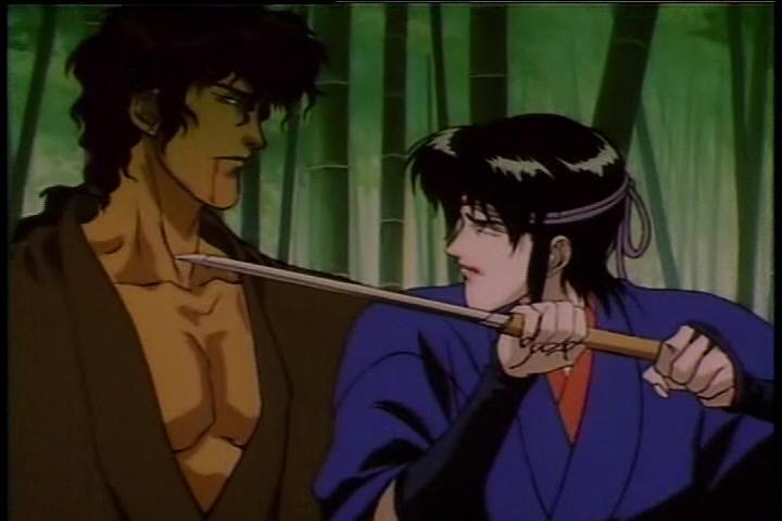 Theme.... Ninja scroll nude scenes have