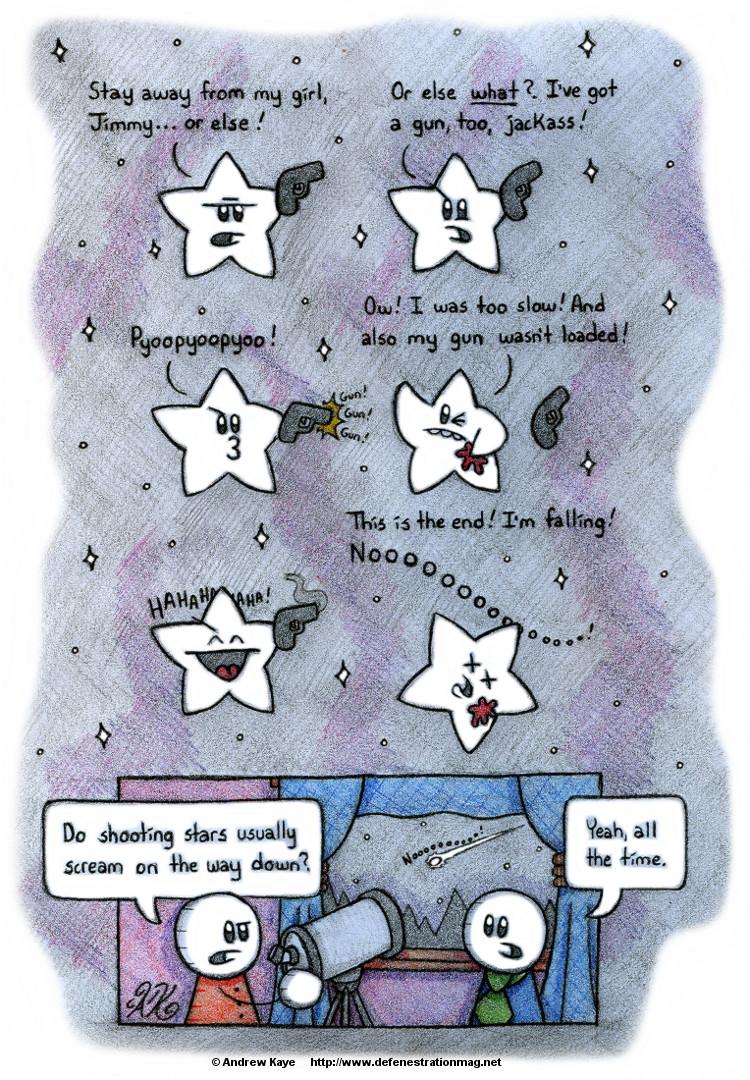 01252013 Shooting Stars
