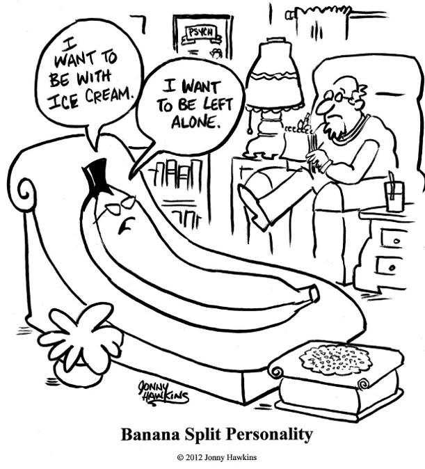 05192013 - Jonny Hawkins, Banana Split Personality