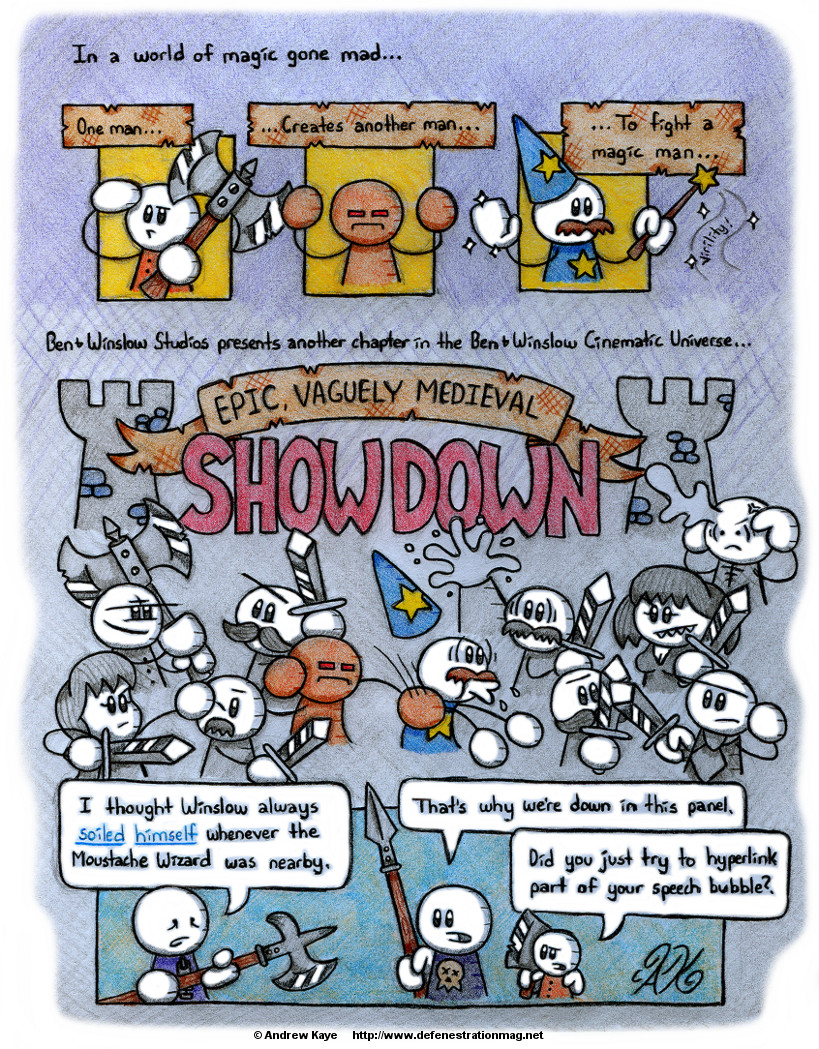 10172014 Epic, Vaguely Medieval Showdown