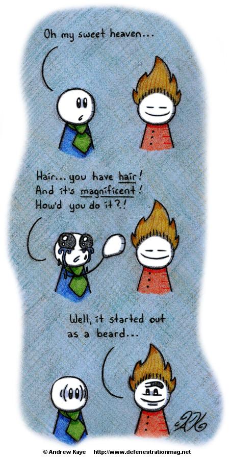 06172016 Hair, Apparently